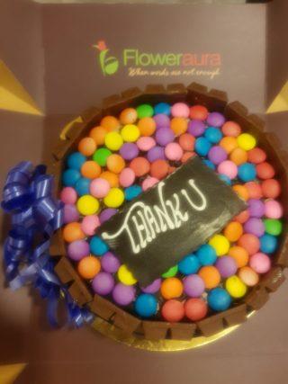 Cake & Thankyou Mesage to Dr Shivani Gour