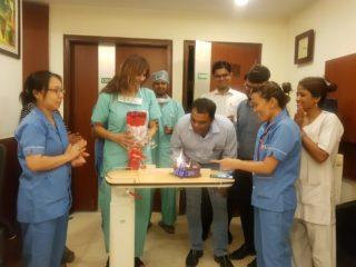 Thankyou Mesage to Dr Shivani Gour