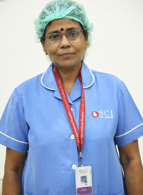 SCI IVF Hospital Medical Team - Mrs Geeta