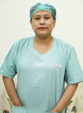SCI IVF Hospital Nurse Traley